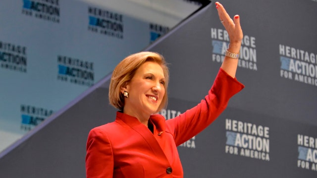 Report: Carly Fiorina's PAC sees uptick in donations