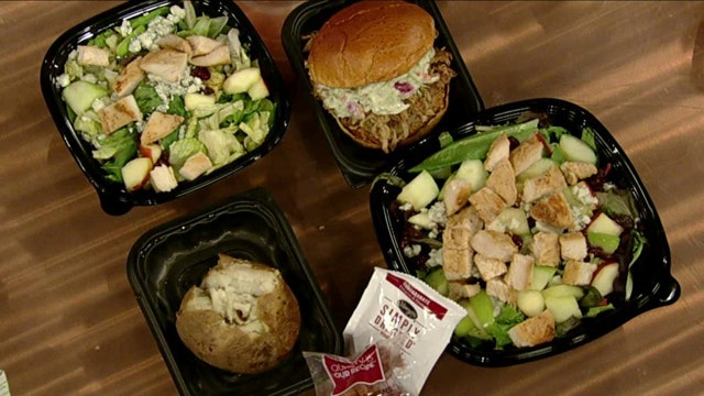 The healthiest options on fast food menus