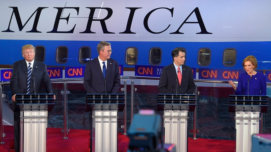 Candidates take aim at The Donald at second GOP debate