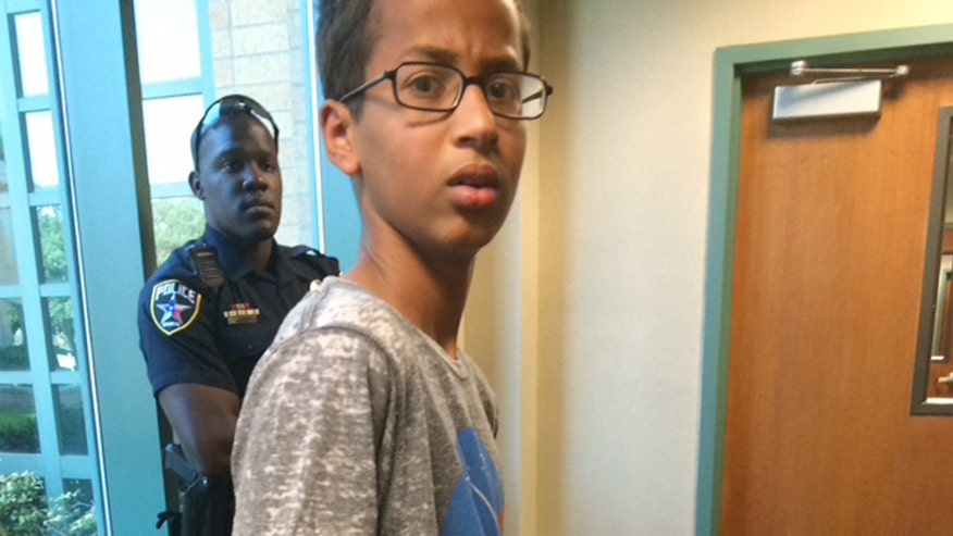 Fourteen-year-old Ahmed Mohamed was arrested for homemade clock, which officials believed was a bomb