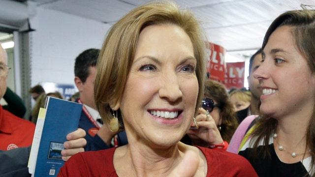 Media hail Carly after debate