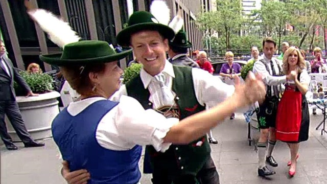 'Fox & Friends' learns to polka