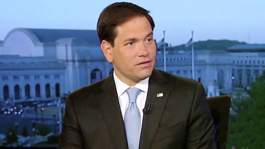 Rubio said he believes Pope Francis is off-target.