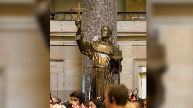 Los Angeles scrubs Catholic Saint Junipero Serra from park where statue was torn down by activists