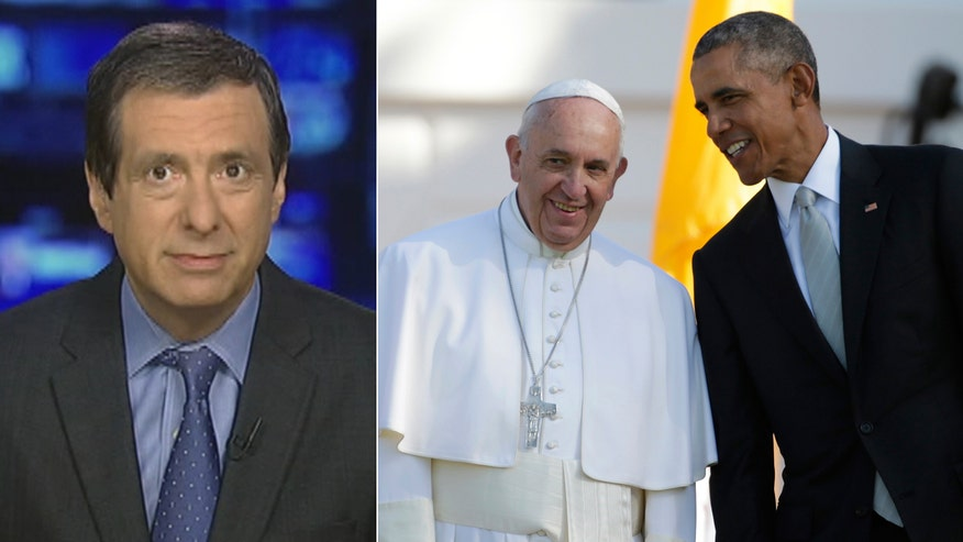 'Media Buzz' host reacts to Pope Francis' visit to US