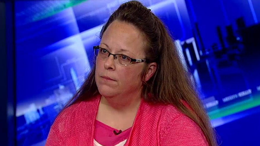 Kentucky clerk describes the humbling experience on 'The Kelly File'