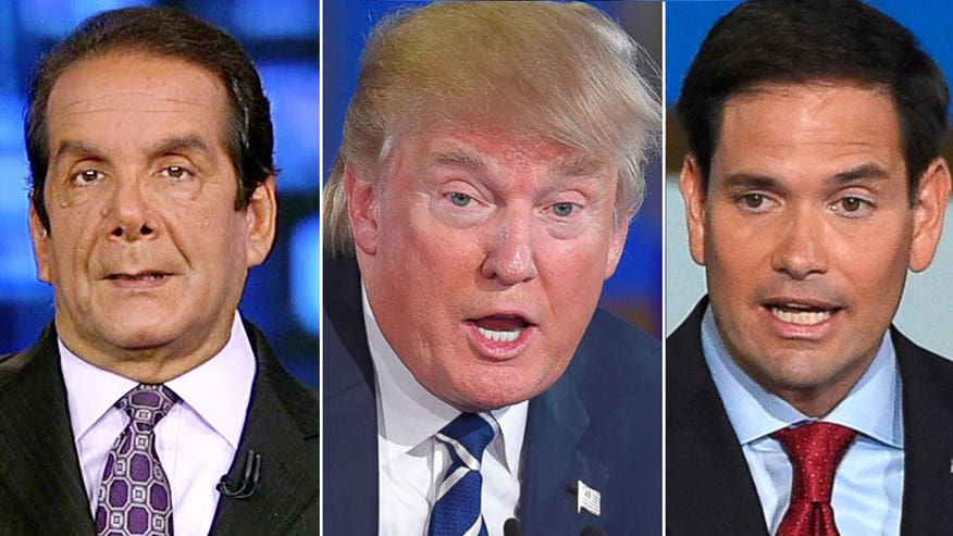 A closer look at Donald Trump's attacks against Marco Rubio; Columnist reacts on 'The Kelly File'