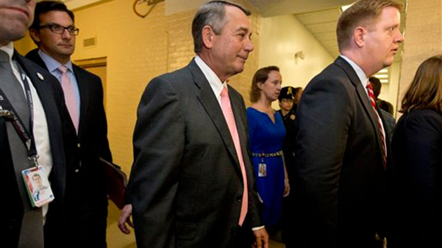 Boehner giving up leadership post and congressional seat