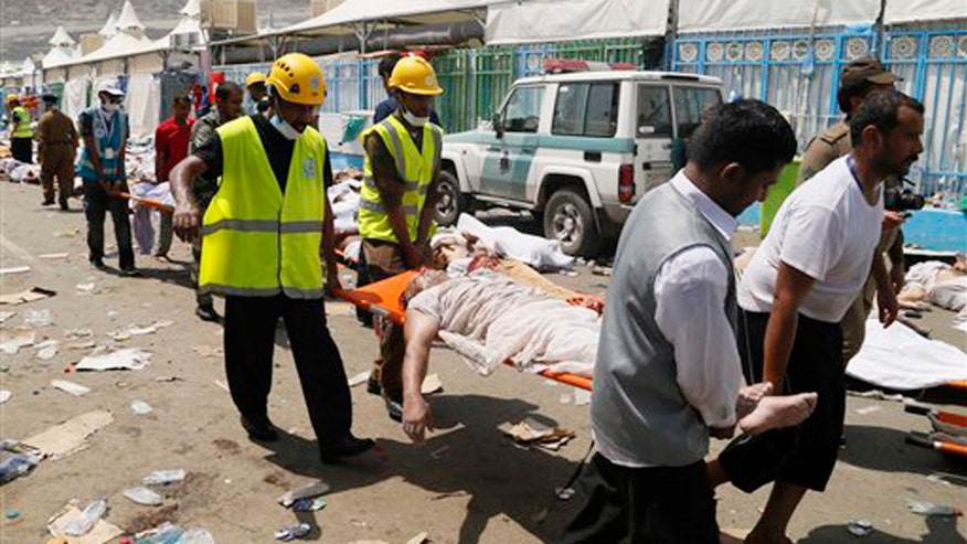 More than 700 killed in crush; witness says pilgrims were climbing over each other just to get a breath of air
