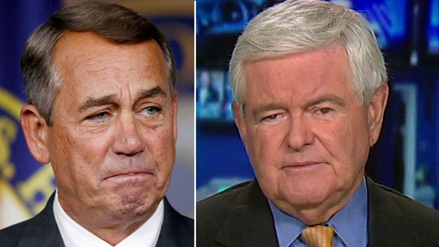 Newt Gingrich weighs in on the Speaker of the House retiring on 'The O'Reilly Factor'