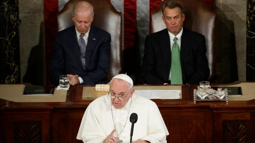 Father Robert Sirico: Pope speaks to questions of morality, not politics