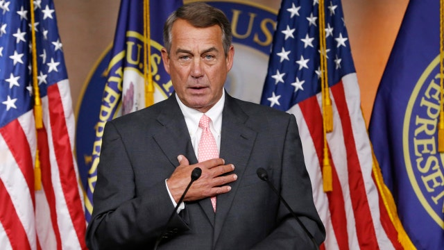 The race is on the fill John Boehner's shoes