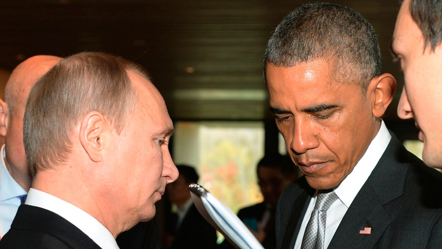 The two world leaders will come face-to-face amid tensions over Syria, Ukraine