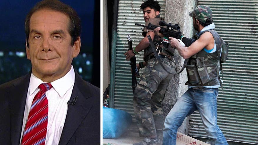 "Krauthammer on Syrian Foreign Fighters ""historically unprecedented"""
