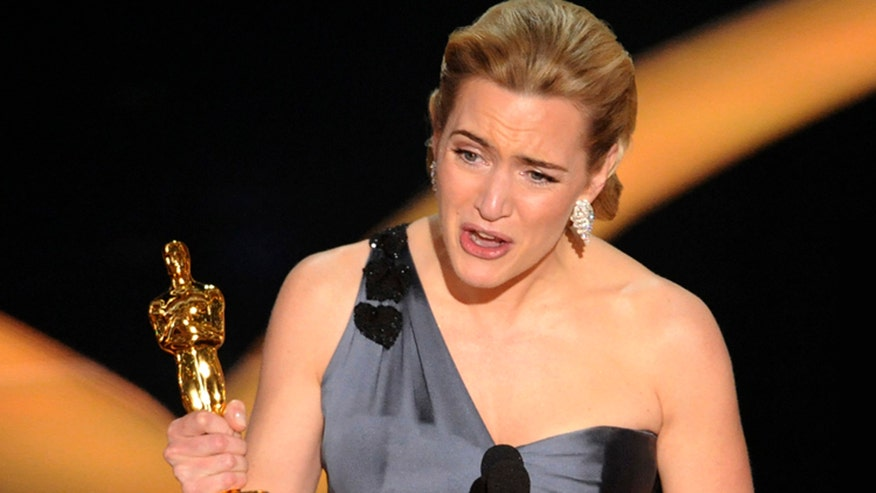 Break Time: Kate Winslet doesn't keep her Oscar in glass case