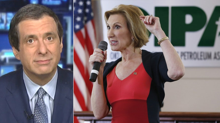 'Media Buzz' host on GOP candidate Carly Fiorina vs. liberal feminists