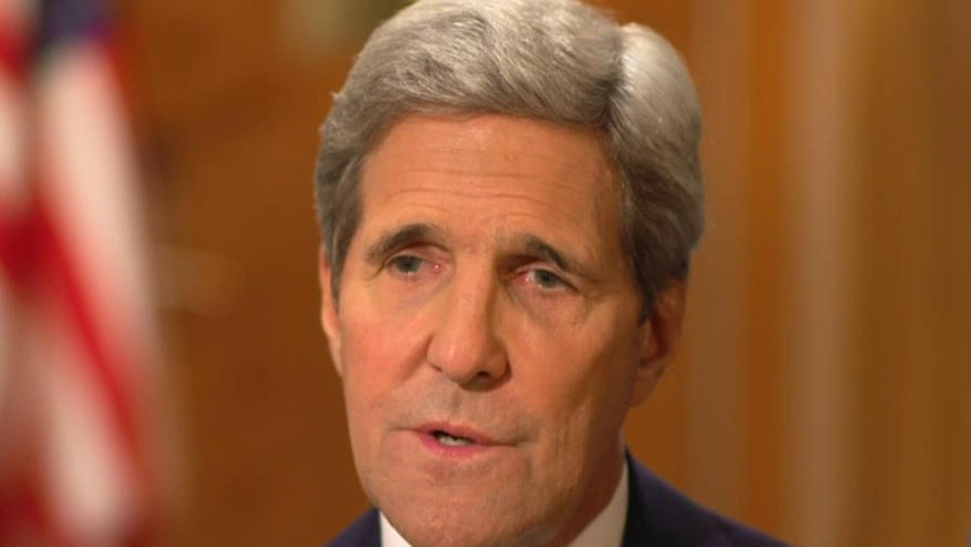 'On the Record' Interview, Pt. 1: Russia's bomb strikes in Syria took the Obama administration off-guard. Before the attacks, Sec. of State John Kerry discussed the complicated interests the US, Putin and Assad have with the looming ISIS threat