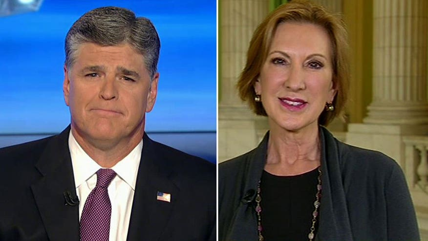 Carly Fiorina talks Obama's foreign policy failures, Planned Parenthood hearing on 'Hannity'