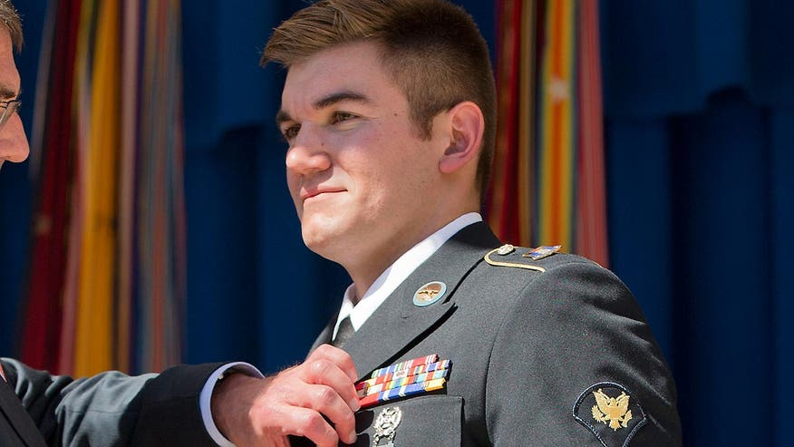 Paris train hero Alek Skarlatos, currently enrolled as a student at Umpqua Community College, tells 'On the Record' he likely would have been on campus at the time of the shooting if he hadn't had other obligations
