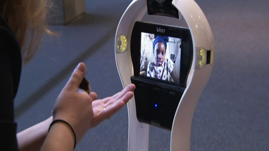 When children are diagnosed with cancer, their hospital rooms often become their new homes and they're not allowed out because of their risk of infection. To help kids enjoy some normalcy, St. Louis Children's Hospital is using a telepresence robot so they can virtually leave the hospital and explore in a new and unique way