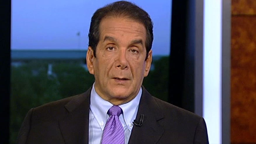 "Charles Krauthammer said that 2016 presidential democratic candidate is ""latching on"""