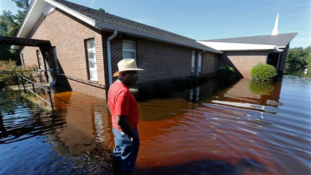 Floodwaters continue to wreak havoc in South Carolina