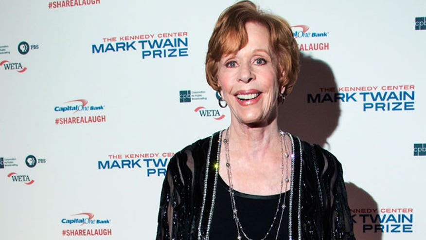 Michael Tammero sits down with comedy legend Carol Burnett to get the scoop on her latest Broadway show.