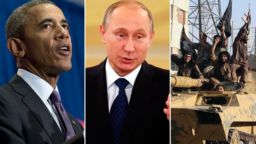 Report: Iraqi politicians urge Putin to strike ISIS in their country
