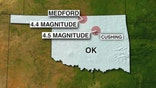 Nearly 700 quakes of magnitude 3 or greater reported this year
