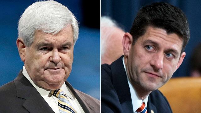 Gingrich warns Ryan about House speaker job