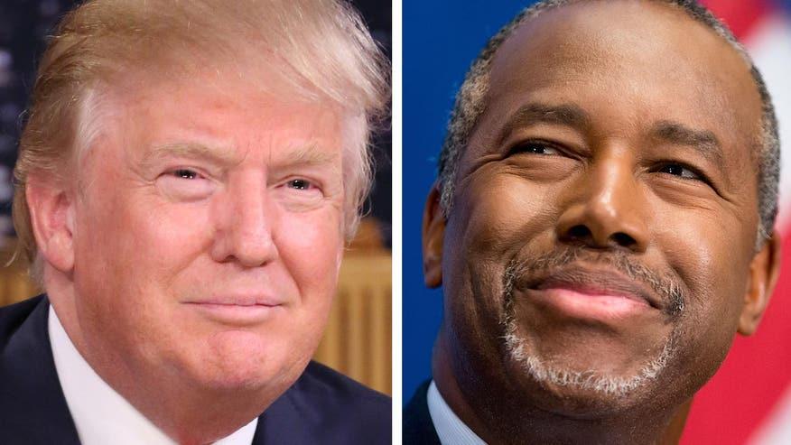 Trump, Carson top latest polls