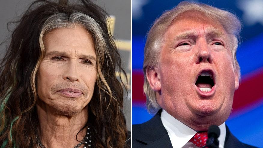 Aerosmith singer tells Trump to 'Dream on'