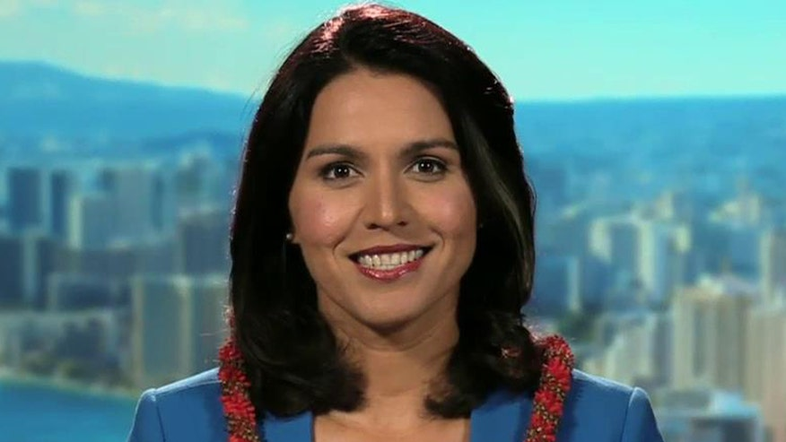 Rep. Tulsi Gabbard, known for taking on her own party and Obama, says she was disinvited to the Democratic debate after calling for more of them. Party officials dispute this. Gabbard gives 'On the Record' her side of the story