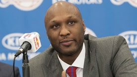 In The Zone: Brothel owner Dennis Hof- Lamar Odom had 'blood around his nose and mouth'
