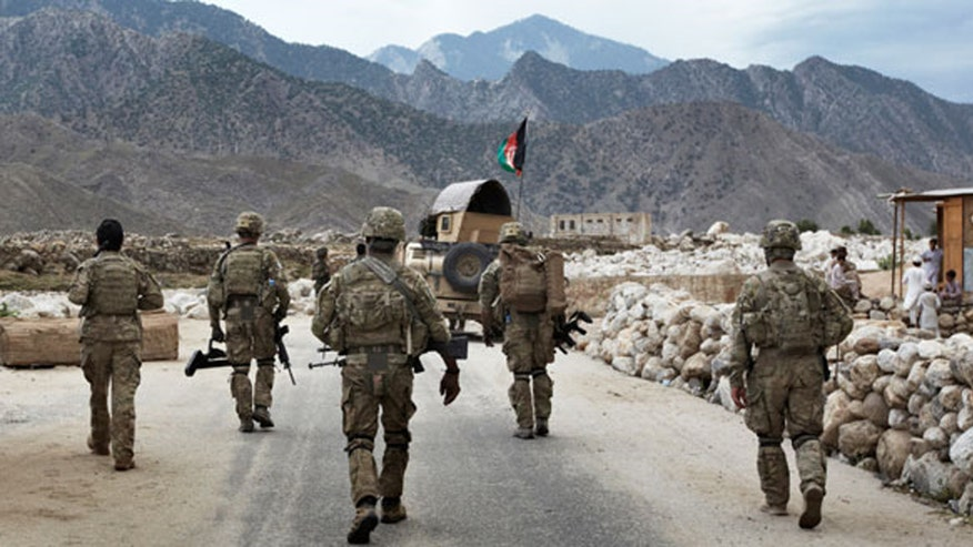 Pressure mounting to maintain military presence after Taliban gains