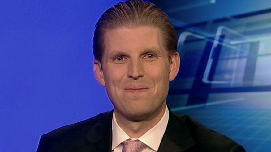 Trump's son goes 'On the Record' on what 'The Donald' is like as a father, a business negotiator, why he would make great president, his successful poll numbers and why he was the true winner of the Democratic debate and more