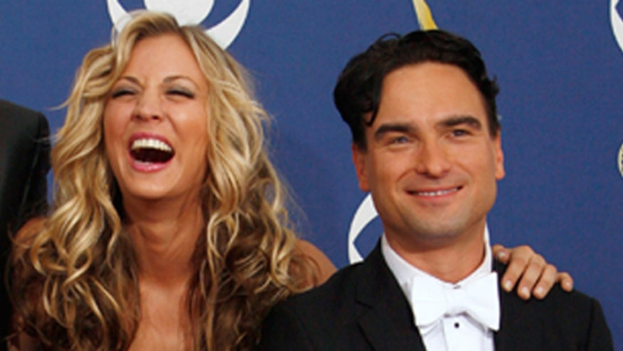 Cuoco says she and ex-boyfriend Johnny Galecki are just friends now