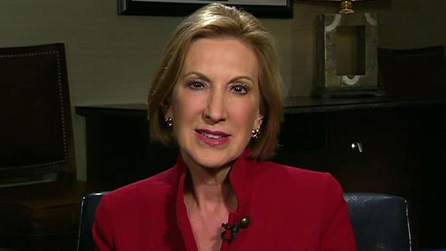 On 'The Kelly File,' GOP candidate reflects on state of her campaign, remarks by competition