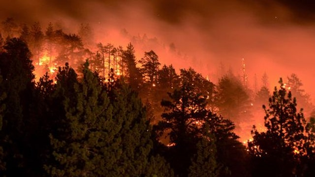 Scientists deny climate change caused California wildfires