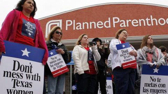 Texas cuts off Medicaid funding for Planned Parenthood