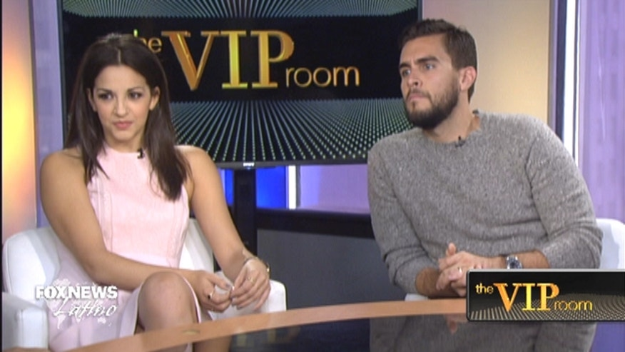"The stars of the Broadway musical ""On Your Feet!,"" Josh Segarra and Ana Villafañe, say immigration is very present in their minds while performing."