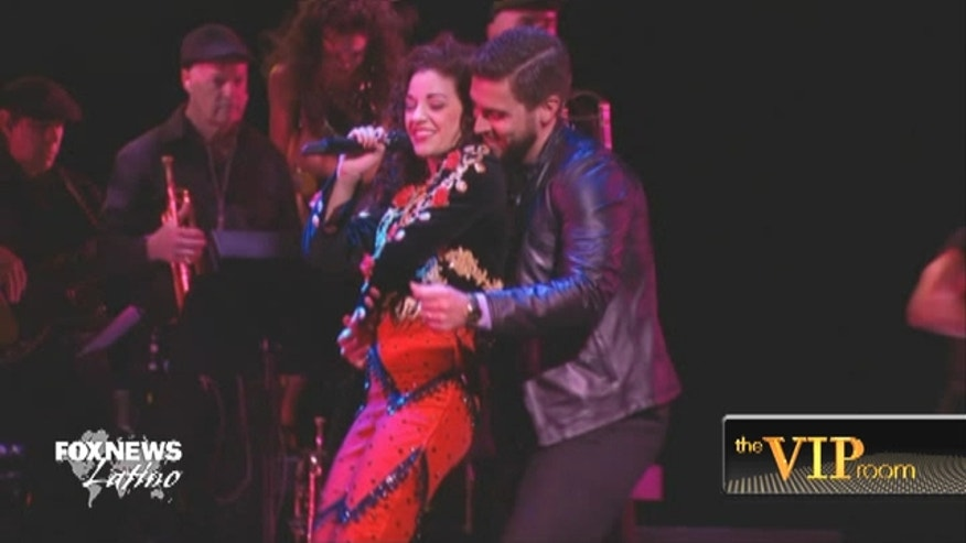 'On Your Feet!' stars Josh Segarra and Ana Villafañe talk about how strange, and wonderful, it is to play living legends in a new Broadway musical.
