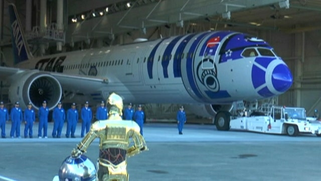 'Frozen,' 'Star Wars' themed airplanes take off