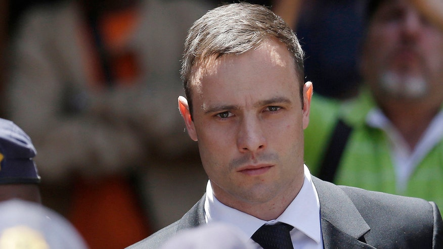 Pistorius was sentenced to five years in prison in the shooting-death of his girlfriend
