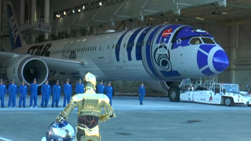 Some airlines are reaching new heights with 'Frozen' and 'Star Wars' themed flights