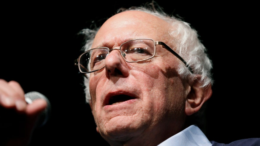 Democratic presidential candidate Bernie Sanders says everyone's taxes will have to go up a little to pay for certain social programs