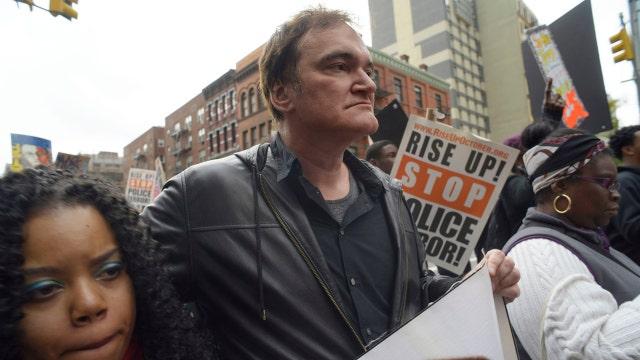 NYPD union calls for Tarantino boycott over anti-cop protest