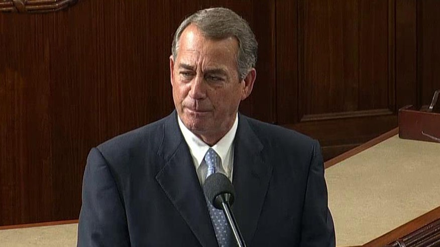 Outgoing House speaker makes final address to Congress