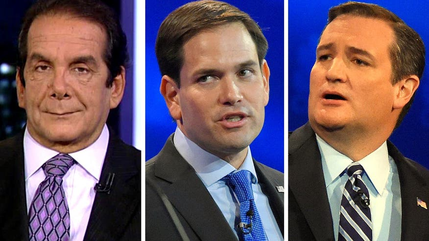 Krauthammer: Rubio or Cruz should challange Clinton