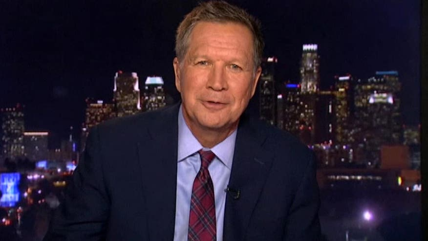 Governor John Kasich discusses the 2016 election campaign trail on 'The O'Reilly Factor'